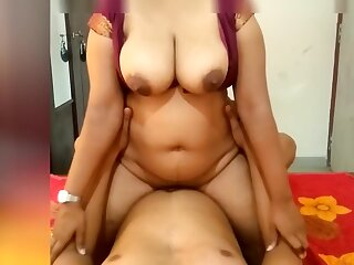 Indian Maroon Unreserved Riding on Me plus Make Me Cum On Her Big Boobs