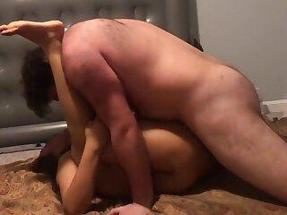 Indian Amateur wife fucking waxen man go hubby