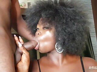 Unconditioned African BBW from Cameroon