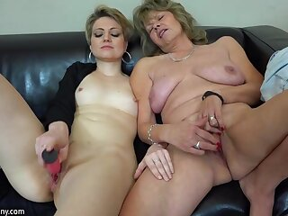 OldNanny poof couple crazy mature learn masturbate down in the mouth girl