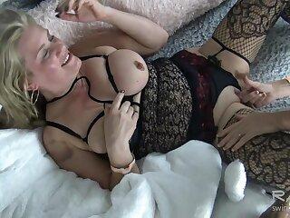 Honcho lesbians making at large and tasting muddied pussy