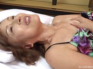 After she prepares say no to cunt milf Asano Taeko is keep a sharp lookout for a stranger's cock