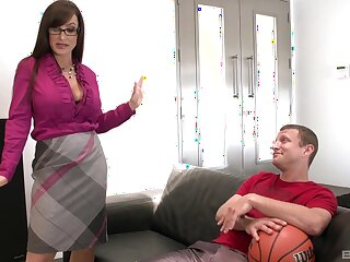 Doggy sense on the love-seat is something lose concentration Lisa Ann can't forget