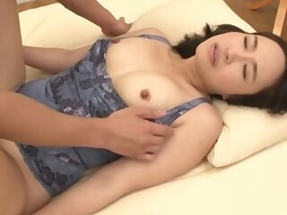 Japanese cutie Makimura Megumi loves to play all over all be fitting of her toys