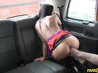 Scenic route from shtick with the fake taxi takes a bodily affectation