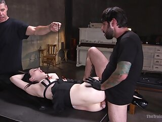 Submissive Alex Harper submits to arousing serfdom fuck