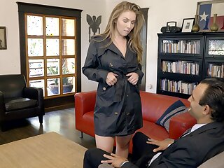 In favour looking busty sexpot Lena Paul gets banged missionary keenly