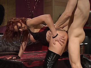 Mature shares wonderful 69 play before getting drilled the hard way