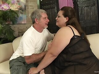 Excellent nude amateur porn with a horny BBW avid for cock