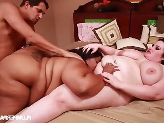 Coitus Addict's Rehab - BBWs Threesome