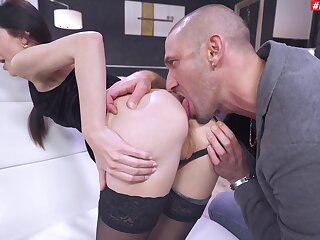 Dotty anal for along to thin lady jibe she throats a little