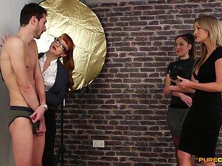 Shrunken dude gets pleasured by naughty Samantha Page & Sienna Make obsolete
