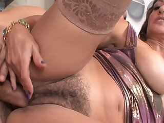 She Has A Hairy Pussy That Needs Feeding - Persia Monir