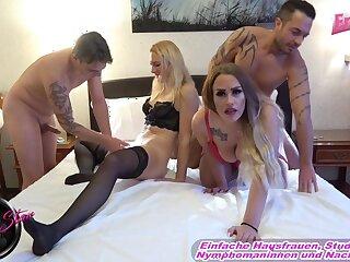 German homemade foursome amateur sex