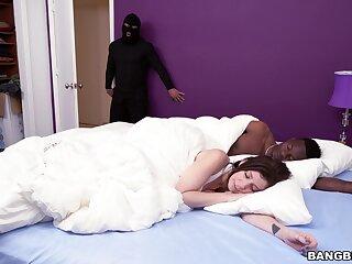 Robber ass fucks married slut alongside be transferred to morning